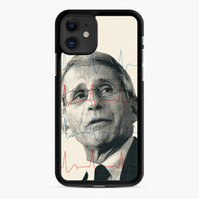 Load image into Gallery viewer, Anthony Fauci Became America's Doctor iPhone 11 Case, Black Rubber Case | Webluence.com