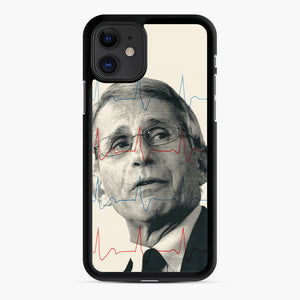 Anthony Fauci Became America's Doctor iPhone 11 Case, Black Rubber Case | Webluence.com