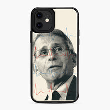Load image into Gallery viewer, Anthony Fauci Became America's Doctor iPhone 11 Case, Black Plastic Case | Webluence.com