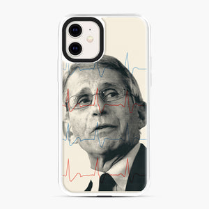 Anthony Fauci Became America's Doctor iPhone 11 Case, White Plastic Case | Webluence.com