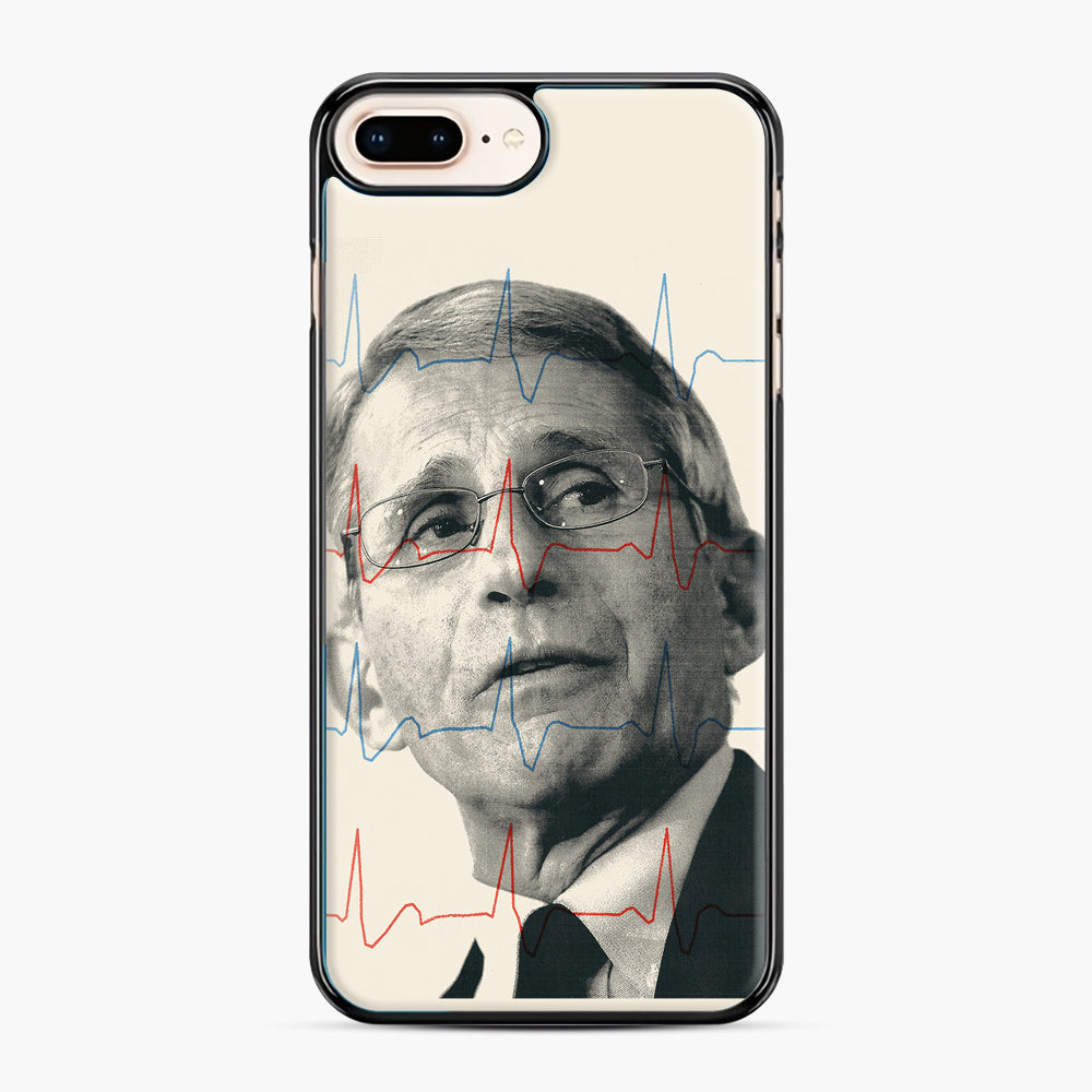 Anthony Fauci Became America's Doctor iPhone 7,8 Plus Case, Black Plastic Case | Webluence.com
