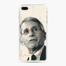 Load image into Gallery viewer, Anthony Fauci Became America's Doctor iPhone 7,8 Plus Case, White Plastic Case | Webluence.com