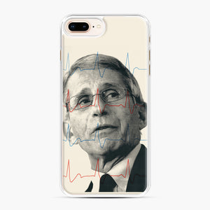 Anthony Fauci Became America's Doctor iPhone 7,8 Plus Case, White Plastic Case | Webluence.com