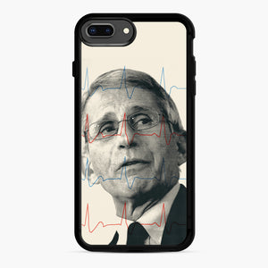 Anthony Fauci Became America's Doctor iPhone 7,8 Plus Case, Black Rubber Case | Webluence.com