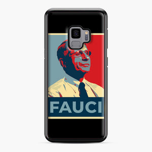 Anthony Fauci Samsung Galaxy S9 Case, Black Plastic Case | Webluence.com