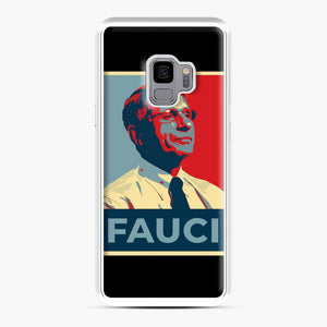 Anthony Fauci Samsung Galaxy S9 Case, White Plastic Case | Webluence.com