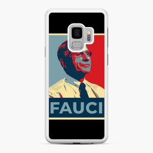 Anthony Fauci Samsung Galaxy S9 Case, White Rubber Case | Webluence.com