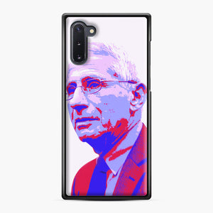 Anthony Fauci illustration Art Samsung Galaxy Note 10 Case, Black Plastic Case | Webluence.com