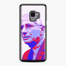 Load image into Gallery viewer, Anthony Fauci illustration Art Samsung Galaxy S9 Case, Black Plastic Case | Webluence.com
