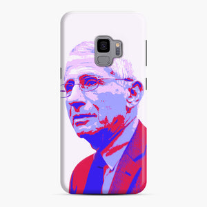 Anthony Fauci illustration Art Samsung Galaxy S9 Case, Snap Case | Webluence.com