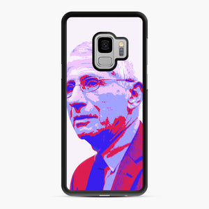 Anthony Fauci illustration Art Samsung Galaxy S9 Case, Black Rubber Case | Webluence.com
