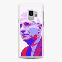 Load image into Gallery viewer, Anthony Fauci illustration Art Samsung Galaxy S9 Case, White Rubber Case | Webluence.com