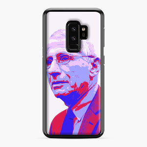 Anthony Fauci illustration Art Samsung Galaxy S9 Plus Case, Black Plastic Case | Webluence.com