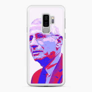 Anthony Fauci illustration Art Samsung Galaxy S9 Plus Case, White Rubber Case | Webluence.com