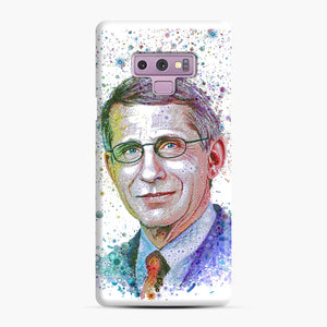 Anthony Fauci illustration Samsung Galaxy Note 9 Case, Snap Case | Webluence.com