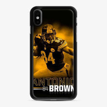 Load image into Gallery viewer, Antonio 84 Brown Yellow Black iPhone X/XS Case