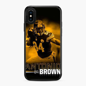 Antonio 84 Brown Yellow Black iPhone X/XS Case