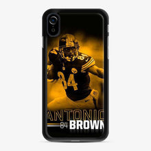 Load image into Gallery viewer, Antonio 84 Brown Yellow Black iPhone XR Case