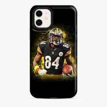 Load image into Gallery viewer, Antonio Brown Brush Yellow iPhone 11 Case