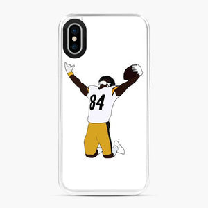 Antonio Brown Clipart iPhone X/XS Case
