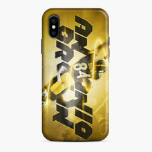 Load image into Gallery viewer, Antonio Brown Light Neon Yellow iPhone X/XS Case