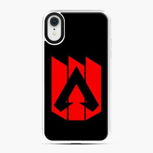 Apex Legends Logo Balck Red iPhone XR Case