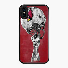 Load image into Gallery viewer, Arizona Cardinals Helmet iPhone X/XS Case