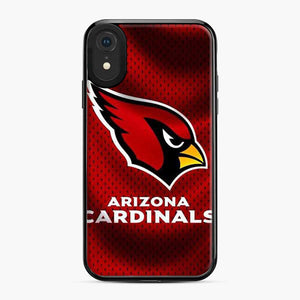 Arizona Cardinals Small Black Polka Dots iPhone XR Case