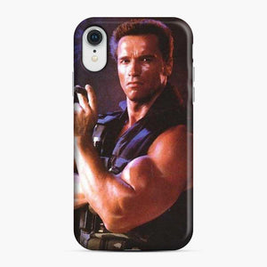 Arnold Schwarzenegger Actor Commando iPhone XR Case