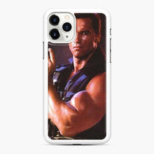 Load image into Gallery viewer, Arnold Schwarzenegger Actor Commando iPhone 11 Pro Case