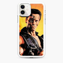 Load image into Gallery viewer, Arnold Schwarzenegger In Commando iPhone 11 Case