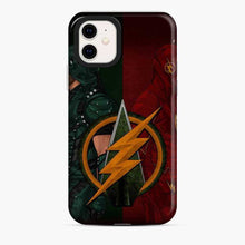 Load image into Gallery viewer, Arrowverse And Flash iPhone 11 Case