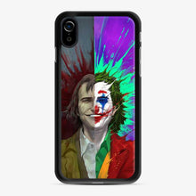 Load image into Gallery viewer, Arthur Fleck Vs Joker Plash Watercolor Red Green iPhone XR Case