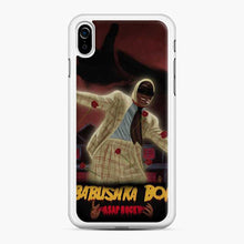 Load image into Gallery viewer, Asap Rocky Babushka Boi Red Rose iPhone XR Case