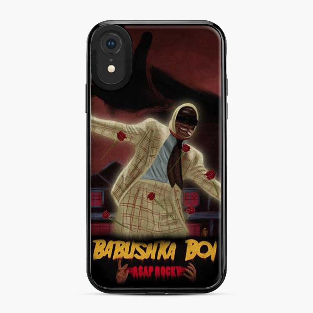 Asap Rocky Babushka Boi Red Rose iPhone XR Case
