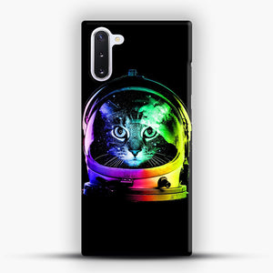 Astronaut Cat Samsung Galaxy Note 10 Case, Snap Case | Webluence.com