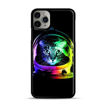Load image into Gallery viewer, Astronaut Cat iPhone 11 Pro Max Case.jpg, Black Plastic Case | Webluence.com
