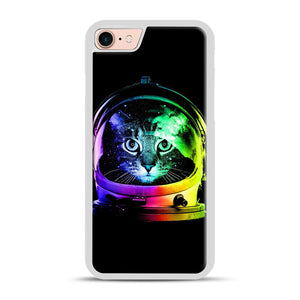 Astronaut Cat iPhone 7/8 Case.jpg, White Plastic Case | Webluence.com