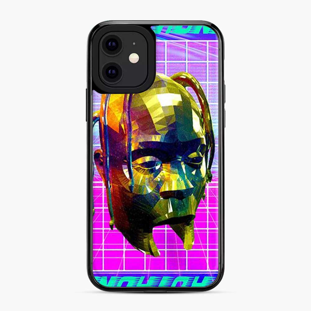Astrothunder Grid Lines Purple iPhone 11 Case