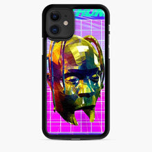 Load image into Gallery viewer, Astrothunder Grid Lines Purple iPhone 11 Case