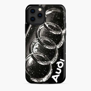 Audi 3D Logo Dew Water iPhone 11 Pro Case