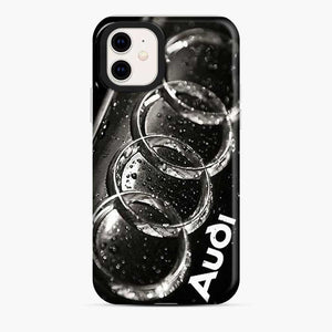 Audi 3D Logo Dew Water iPhone 11 Case