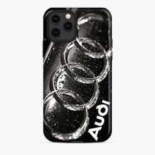 Load image into Gallery viewer, Audi 3D Logo Dew Water iPhone 11 Pro Case