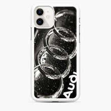 Load image into Gallery viewer, Audi 3D Logo Dew Water iPhone 11 Case