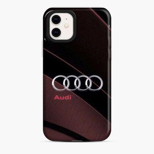 Audi 3D Logo Stylish Red iPhone 11 Case