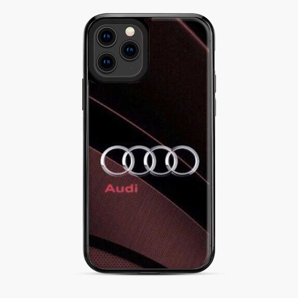Audi 3D Logo Stylish Red iPhone 11 Pro Case