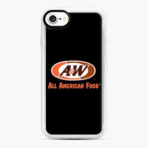 Aw All American Food iPhone 7/8 Case, White Rubber Case | Webluence.com