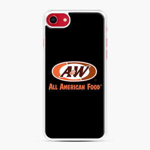 Aw All American Food iPhone 7/8 Case, White Plastic Case | Webluence.com