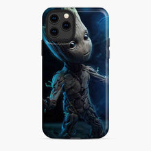 Load image into Gallery viewer, Baby Groot Light iPhone 11 Pro Case
