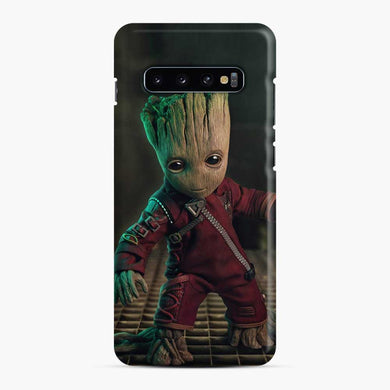 Baby Groot Samsung Galaxy S10 Case, Snap Case